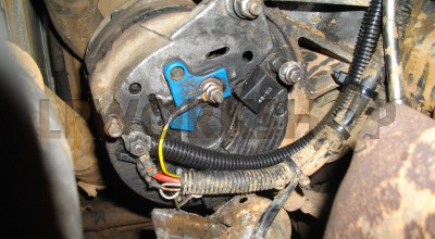300Tdi alternator charging wire rubbed through