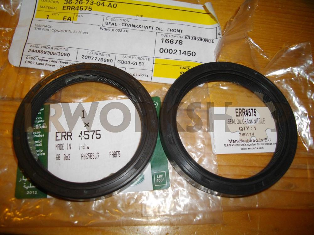 Defender 300 TDi Crank Shaft Cam Belt Pulley O Ring OEM ERR4710