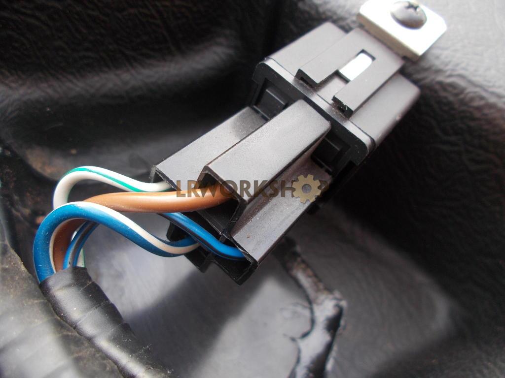 Defender 2002my Connectors For  U0026quot Air Conditioning U0026quot