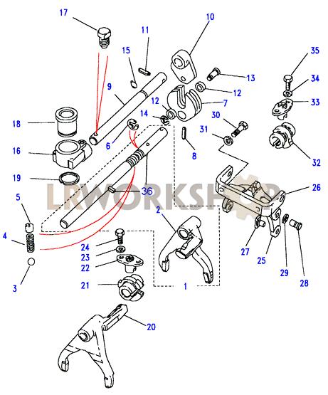 buick transmission diagrams rover transmission diagrams selectors & yoke assembly - land rover workshop