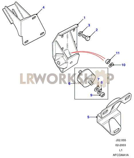 transmission mountings - land rover workshop clark cgp25 wiring diagram #13