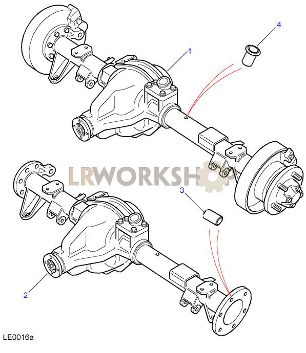 Rear Axle Assembly Salisbury 110 Land Rover Workshop