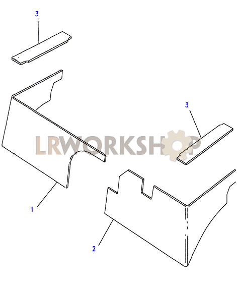 Insulation Seatbase To Wa159806 Land Rover Workshop