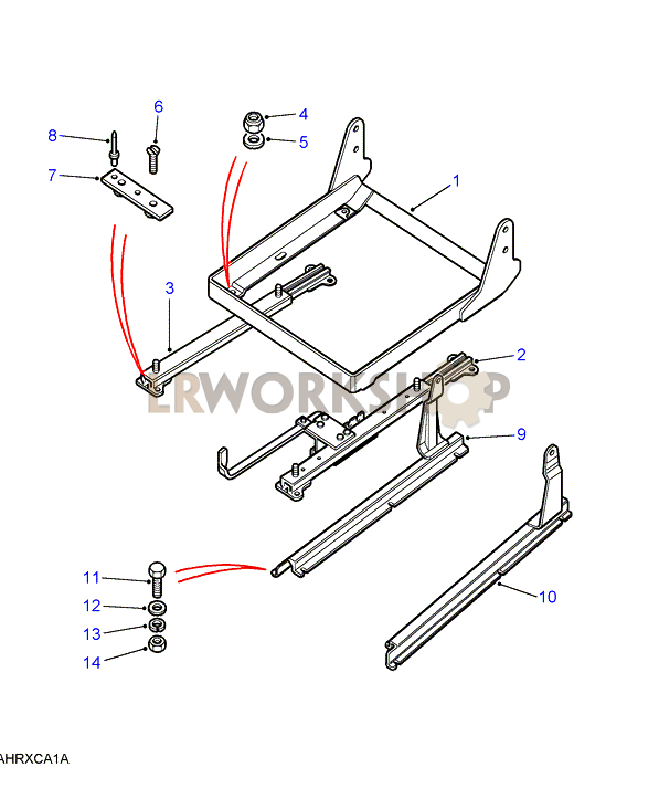 seat support  u0026 runners - basic vinyl