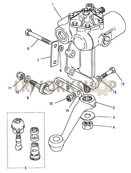 steering box - power - gemmer
