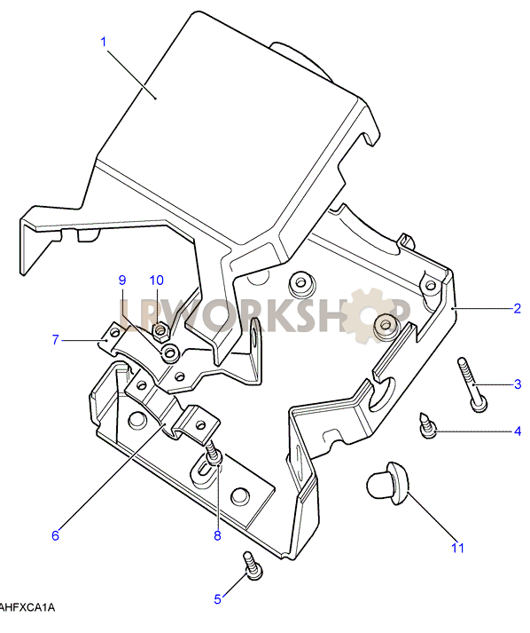 steering column cover