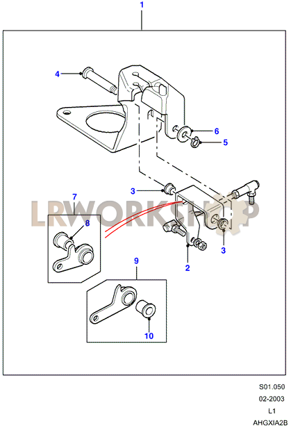 hand throttle - additional parts