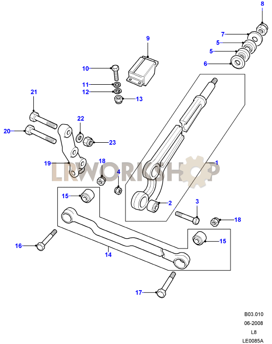 radius arms  u0026 links
