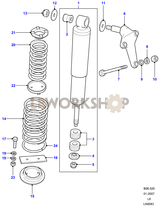 Shock Absorbers  U0026 Springs - 110  130