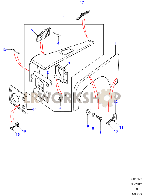 Front Wing Assembly