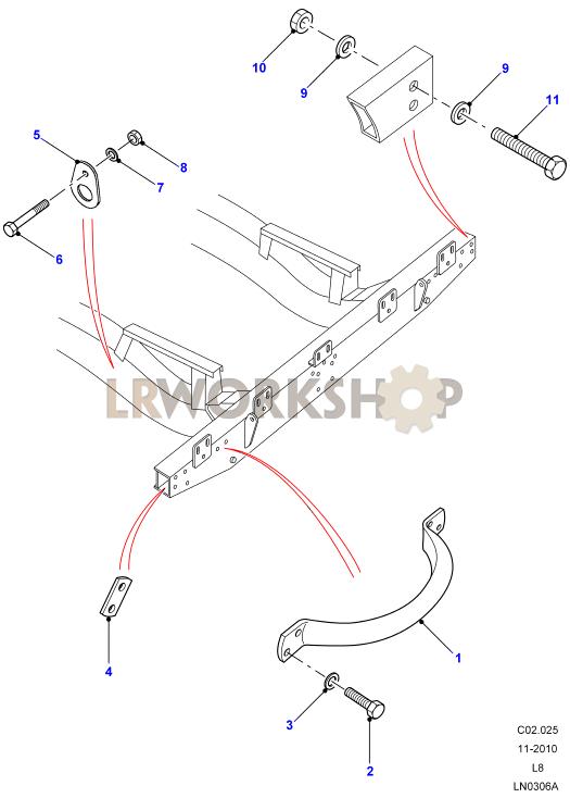 Lifting Handle  U0026 Lashing Ring