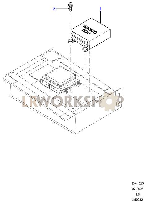 Anti-lock Braking System Ecu