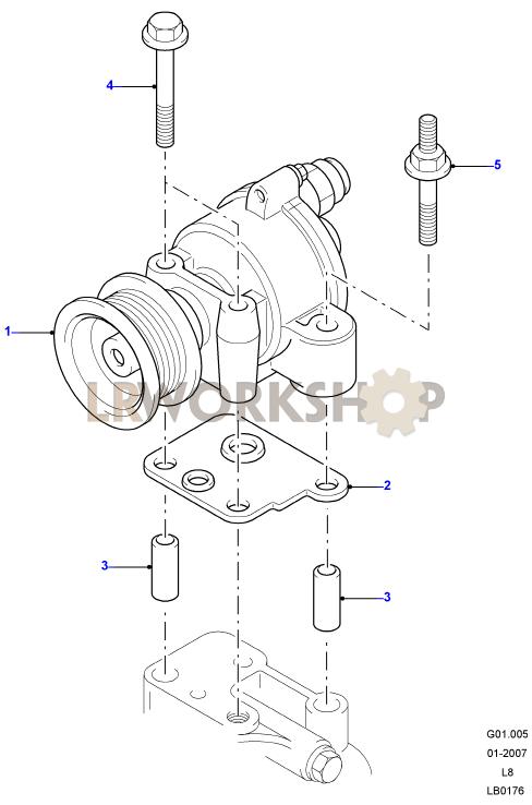vacuum pump - 2 4 tdci