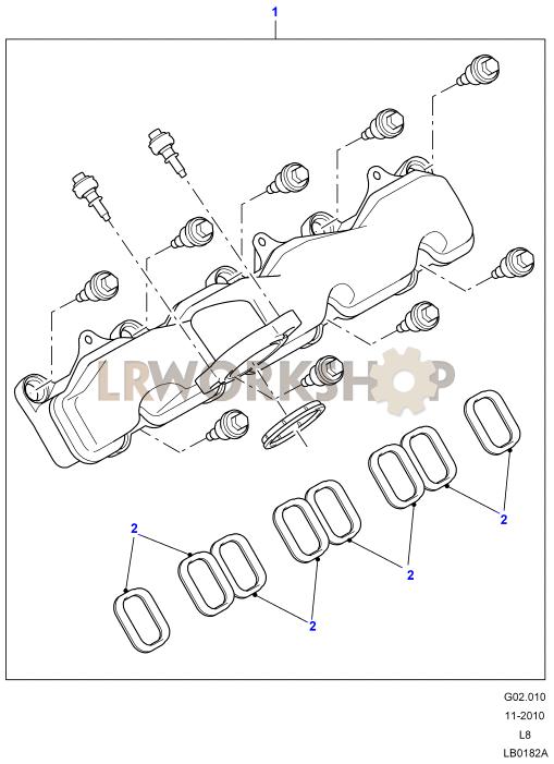 Inlet Manifold - 2 4 Tdci