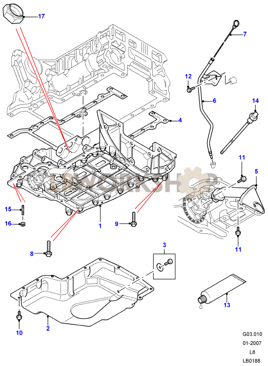 Ford Tdci Engine Parts Diagram