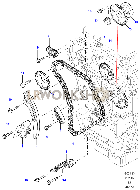 timing chain - 2.4 tdci - land rover workshop 110 engine timing diagram 4 6l ford engine timing diagram