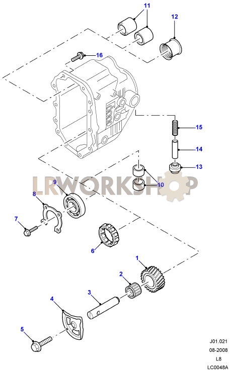 rover transmission diagrams manual transmission external components find land rover parts at  manual transmission external components