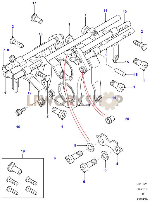 gear shift mechanism