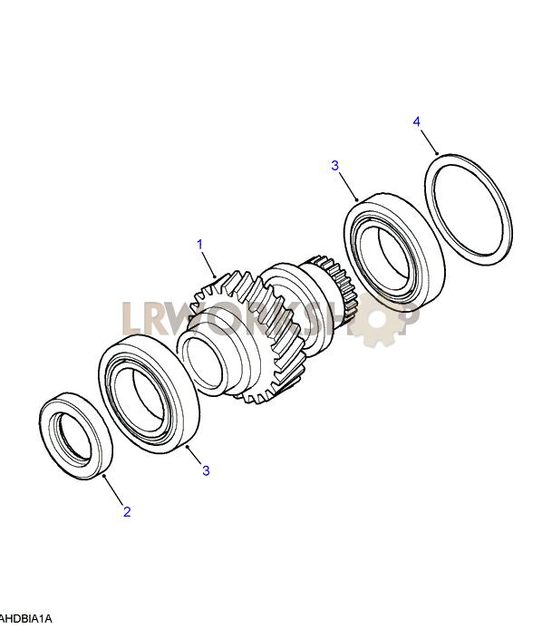 mainshaft input gear