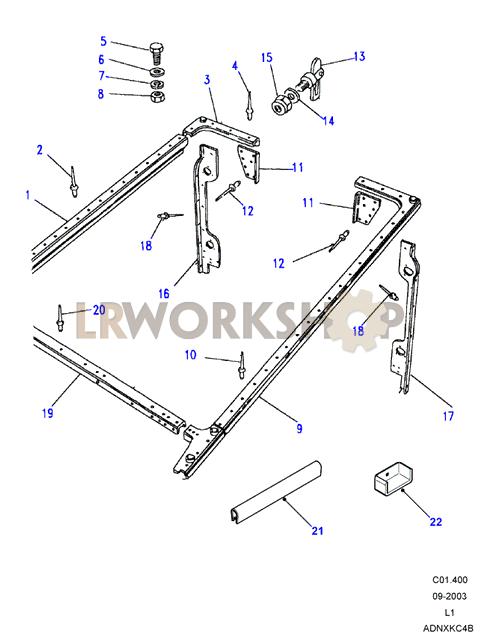 Rear Body Cappings - 90