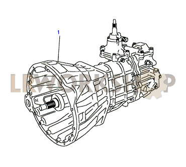Gearbox Assembly - Find Land Rover parts at LR Workshop