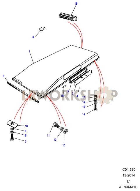 1999 ford expedition roof wiring diagram roof assembly diagram