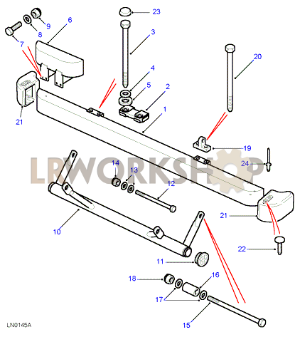 Front Bumper And Bumperettes on 2006 Range Rover Front Bumper Diagram