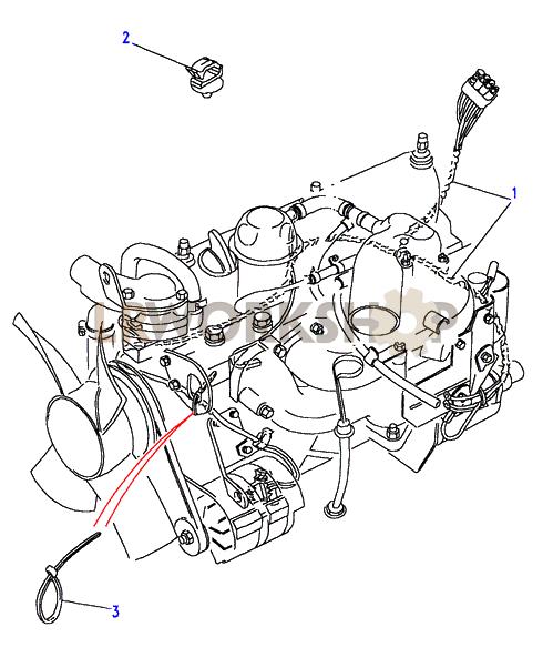 200tdi engine harness land rover workshop rh landroverworkshop com