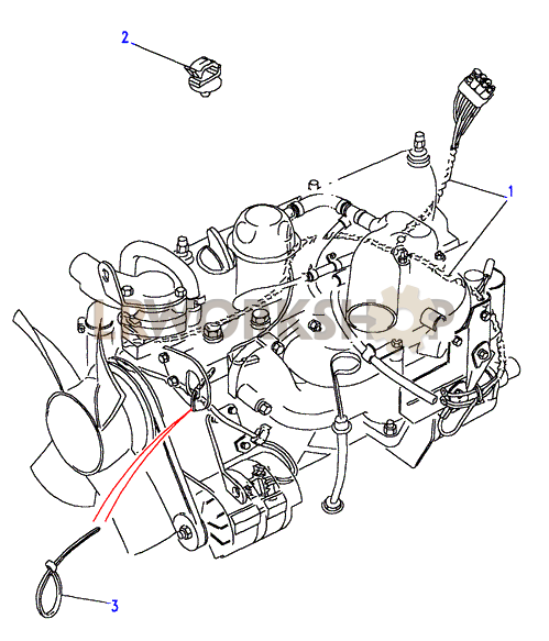 200tdi engine harness