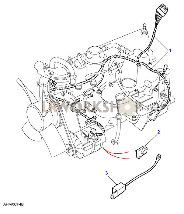 300tdi engine harness