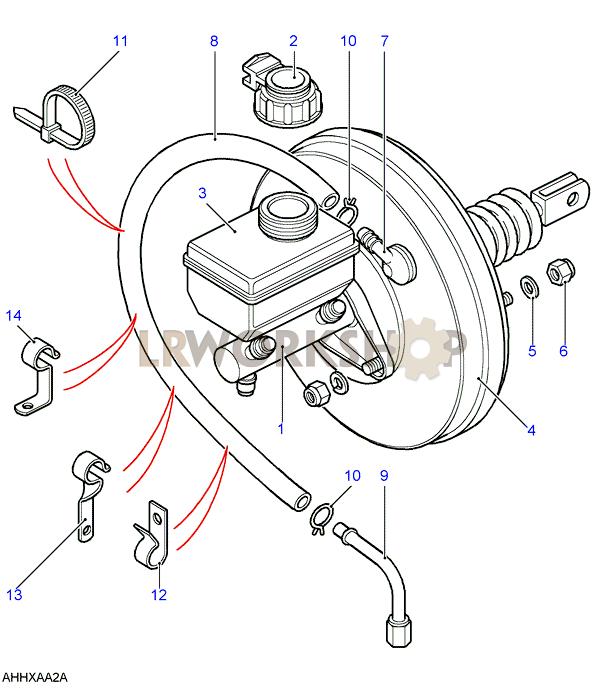 Master Cylinder  U0026 Servo