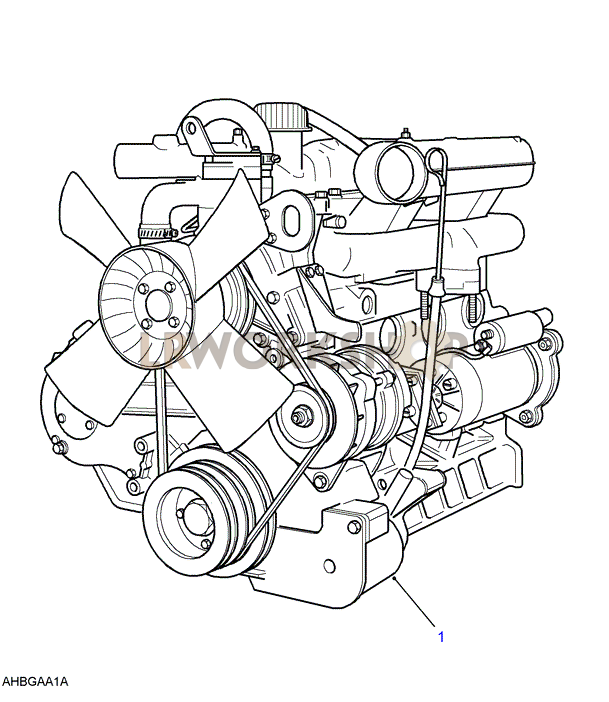 Land Rover 2 5 Engine Diagram