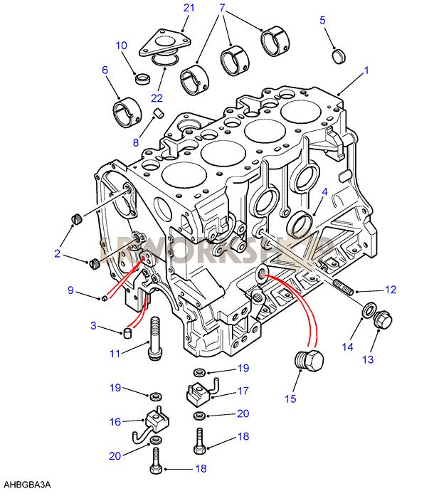 Cylinder Block - 2 5 Na