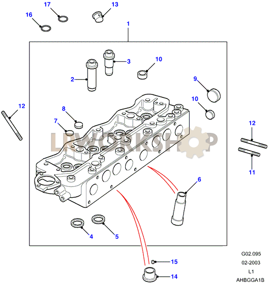 Cylinder Head Assembly - 2 5 Na