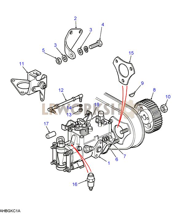 Injection Pump - 2 5 Na