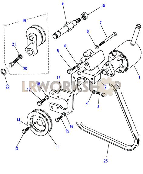 power steering pump-adwest - 2 5 na