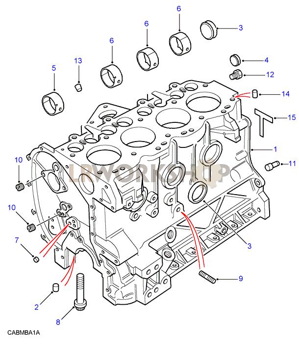 Cylinder Block - 200tdi