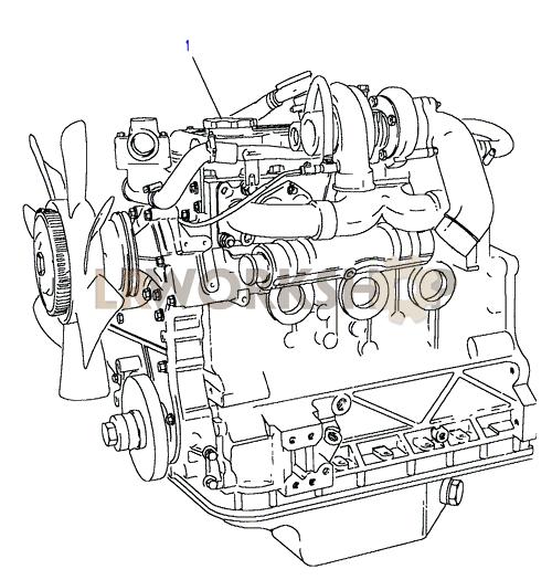 Engine Complete - 200tdi