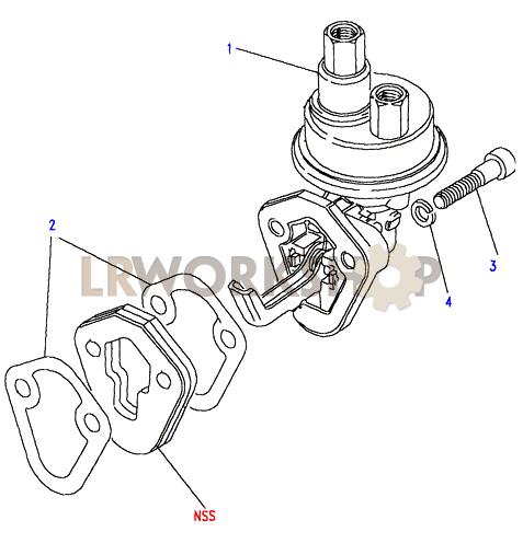 1998 land rover discovery transmission diagram land rover fuel pump diagram fuel pump - 200tdi - find land rover parts at lr workshop