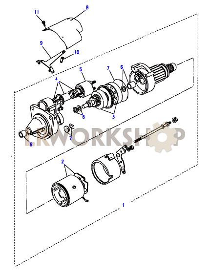 Starter Motor Valeo Part Diagram