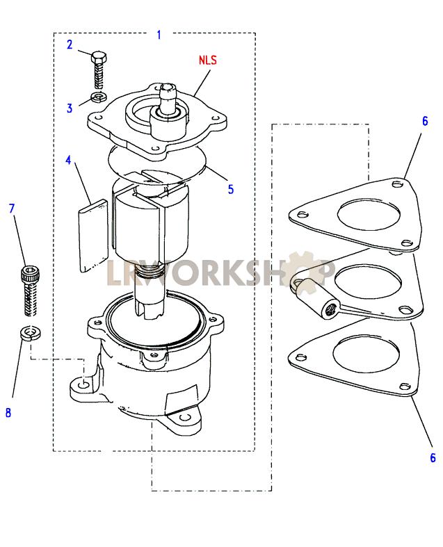 Vacuum Pump - 200tdi