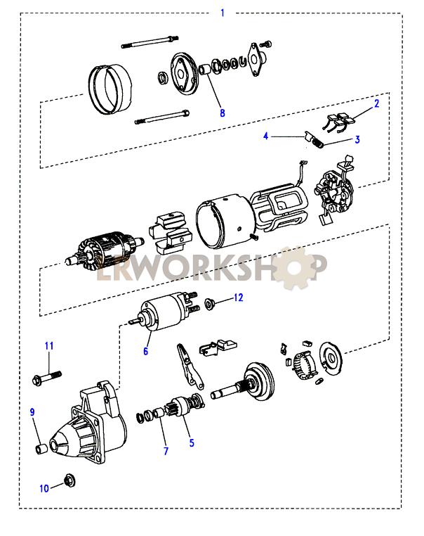 Starter Motor - 300tdi