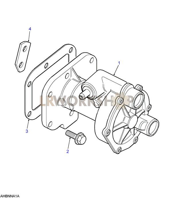 Vacuum Pump - 300tdi