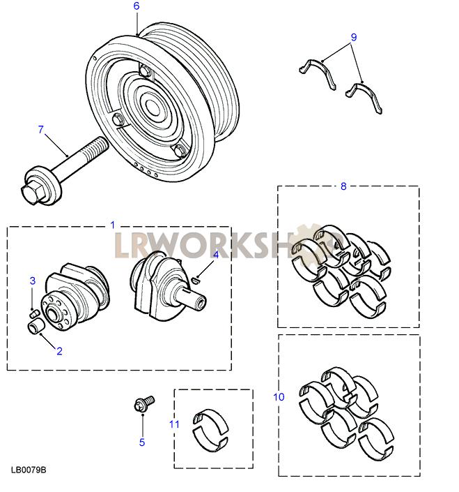 crankshaft - td5