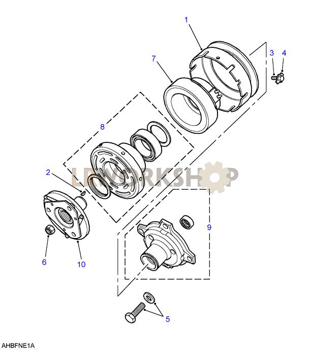 air conditioning compressor - 2 5 petrol