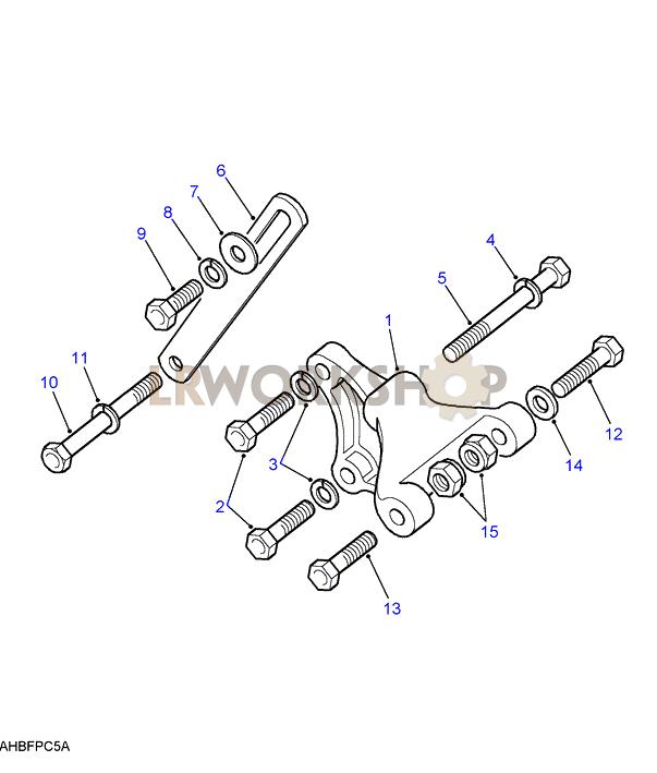 alternator fixings - 2 5 petrol
