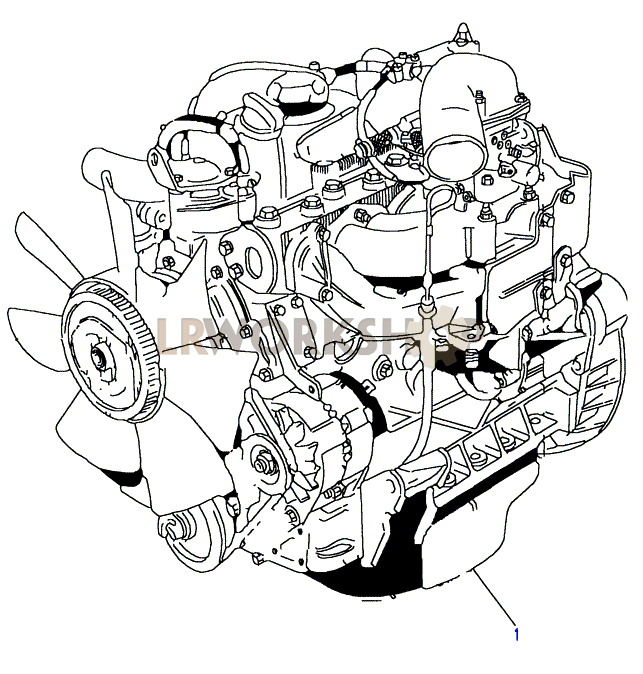 Complete Engine - 2 5 Petrol