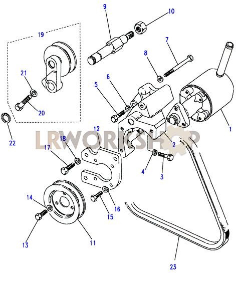 power steering pump-adwest - 2 5 petrol