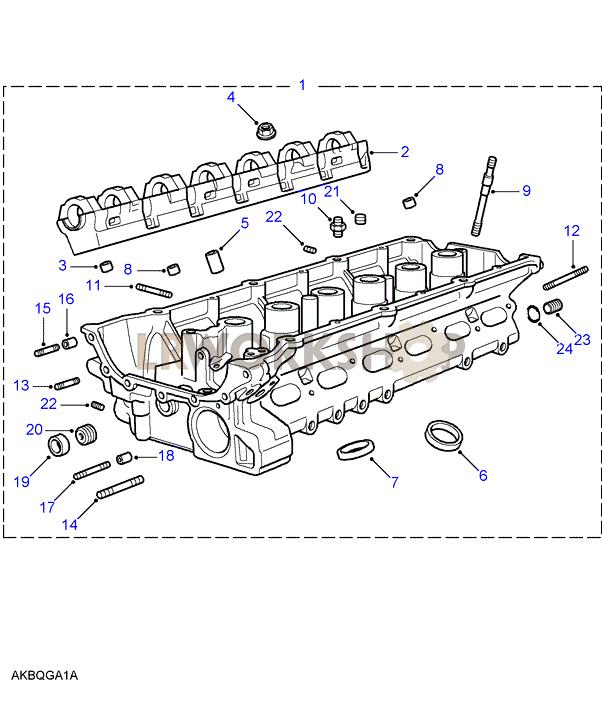 Cylinder Head - 2 8 Bmw M52