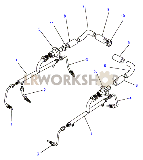 air manifold - v8 3 5l carburetter